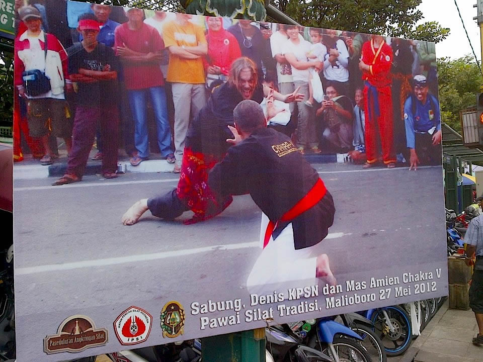 poster Mas Denis vs Mas Amin Yogya 2012