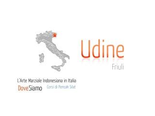 Corso di Pencak Silat a Udine