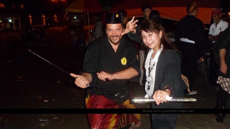 Mas Denis con Guru Ayunda (KPSN e Panglipur style)