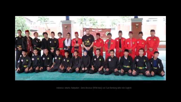 Mas Denis con Guru Bambang stile Cingkrik