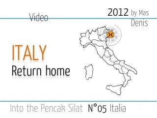 video Silat experience 05 Ritorno a casa