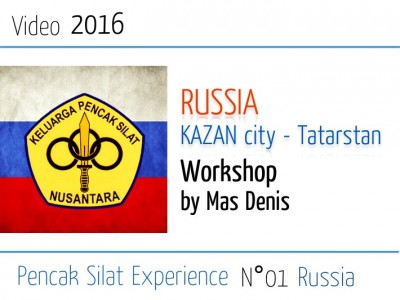 Russia 2016 Silat workshop by Mas Denis