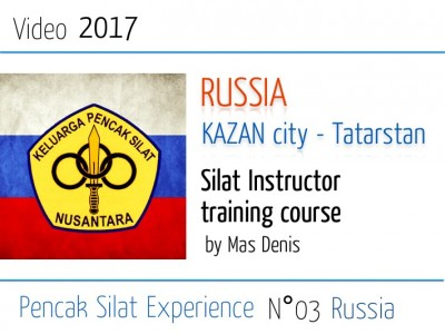 Russia 2017 Silat instructor training course