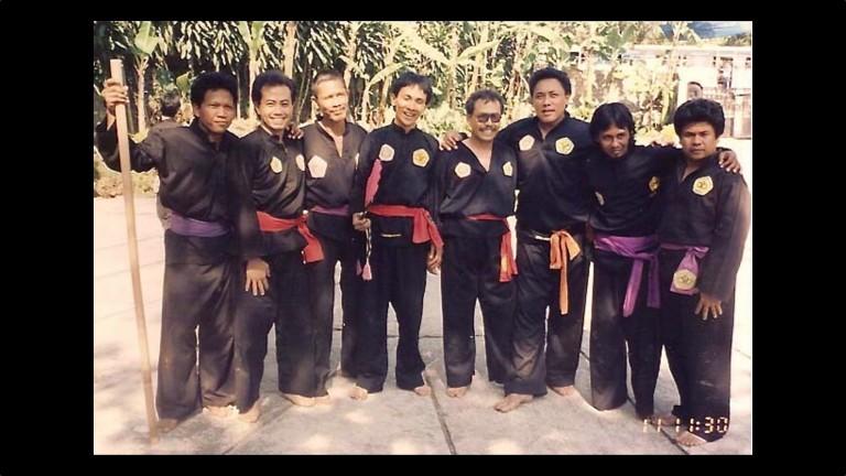 Guru O'ong in gioventù a Jakarta