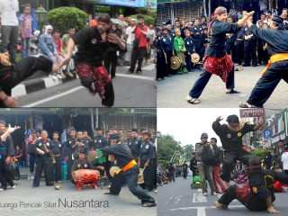 "Mas Denis e Guru Agoeng  ""Silat on the road"""