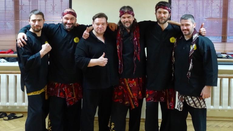 Mas Denis con gli organizzatori dei seminari in Russia 2017