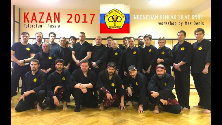 Mas Denis workshop a Kazan (Russia) nel 2017