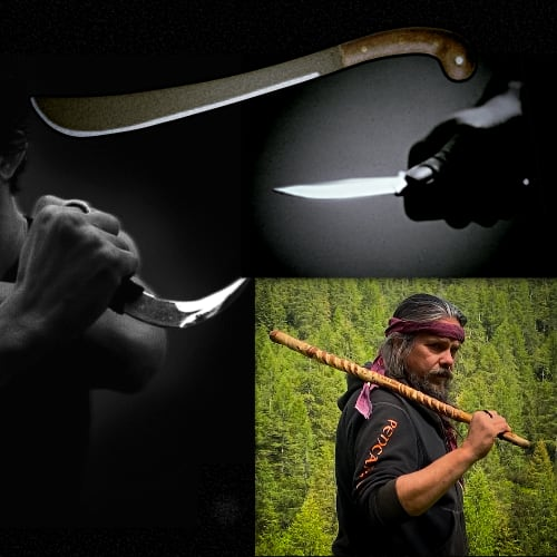 Armi tradizionali del Pencak Silat